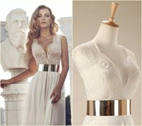 Cheap Reference Images In Stock Evening Gowns Best V-Neck Chiffon 2015 prom dresses