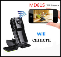 Wholesale WiFi Action spy camera Mini DV Wireless IP Mini Camera Micro Hidden camcorder Video Recorder Mini DVs MD81 MD81S