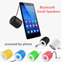 Wholesale Fashion phone self timer function wireless Bluetooth speakers mini stereo