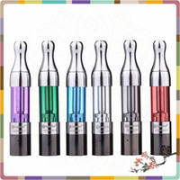 Cheap High Quality kanger Atomizer Mini Pro tank II Atomizer Clearomizer Unitank Replaceable coil head SS tip Pyrex Glass Mini Protank II Atomizer