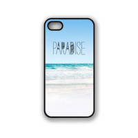 apple paradise - Paradise Beach Hipster Hard Plastic Mobile Phone Case Cover For iPhone S S C Plus