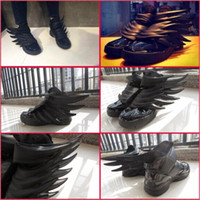 new model shoes - With Box New Model Hot Sale High Quality Jeremy Scotts Wings Womens Mens Fashion Sneaker Shoes New Black