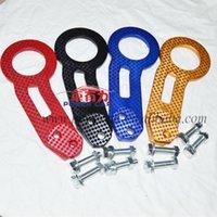 Wholesale pieces pairs BENEN Carbon Fiber Racing Tow Hook Color for Choose