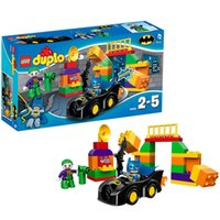 baby depot free shipping - Depot series clown challenge Duplo Baby toy building blocks assembling puzzle