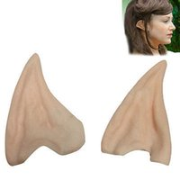alien number - x Pair Elf Fairy Hobbit Vulcan Spock Alien Cosplay LARP Halloween Costume Ear by China Post with tracking number