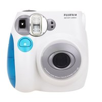 Wholesale Film Camera Instax Mini S Instant Photos Films Polaroid Camera Red BlueInstant Camera Using Instax Mini Film High Quality