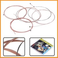 alice bass guitar string - Top Quality Acoustic Guitar Strings Alice A206 L Set For Guitarra Bass Parts Accessories Sets