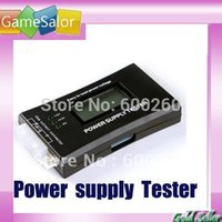 Wholesale PC LCD Power Supply Tester pin SATA HDD Testers