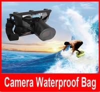 Wholesale Camera Bag for Diving Swim bath Waterproof Underwater Housing Case Dry Bag Pouch for Nikon Canon SLR DSLR Camera