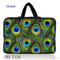 Unisex airs peacock - Peacock Feather New Laptop Sleeve Case Bag Pouch Handle For quot inch quot Macbook Pro Air
