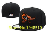 Wholesale Retail New Baltimore Orioles Classic sport baseball fitted hats men and women brand hip hop Flat closed caps