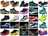 basket - Authentic Mens Cheap Penny Hardaway Foamposites Thermal Map Weatherman Basketball Sports Shoes Adult Athletic Shoes