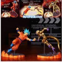 ball forming - Dragon Ball Z Super Saiyan Goku Son Freeza Freezer Ultimate Form Anime Combat Edition PVC Action Figure Collectible Toys