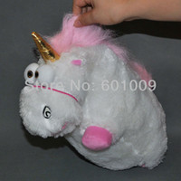 big farms - EMS Despicable Me Fluffy Unicorn Plush Toy Doll big inch Fluffy figure gift