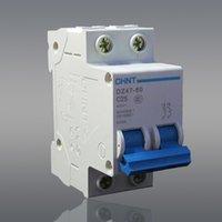 Wholesale MCB Chint breaker miniature circuit breaker DZ47 C25 P A Schneider