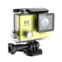 Original H2 Super Slim lumière Ultra HD 4K caméra vidéo Sports 170 degrés grand angle d'action Cam HDMI WIFI étanche 30pcs