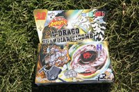 Wholesale 1pcs Beyblade Metal Fusion D BB121B L DRAGO GUARDIAN SI30MB kids game toys children beyblade launchers Christmas gift