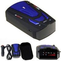 Wholesale Blue Car Anti Police GPS Radar Detector Voice Alert Laser V7 LED New Worldwide Store