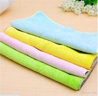 Wholesale High Quality Microfiber Towel Cleaning Cloths Kitchen Towels Magic Household Glasses Car Clean Sponge Cloth