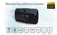 Wholesale The latest wireless p hidden spy camera CAM IP camera alarm black support HD mini camera with night vision