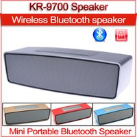 Wholesale Clearance New HIFI Portable wireless mini Bluetooth Speaker double subwoofer loudspeakers music speakers sound boombox Good quality