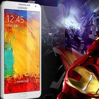 Cheap 50 Pcs lot Wholesale Newest Tempered Glass Screen Protector Samsung Galaxy Note 3 III N9005 N9006 High Quality Via DHL