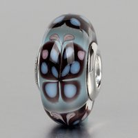 Wholesale 5PCS sterling silver Murano Glass Pandora style beads fit Bracelet or Necklace DB0025