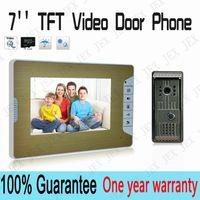 Wholesale Home TFT Video Door Phone IR camera door bell wired doorphone