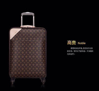 Wholesale classic luxury Real Leather Suitcase luggage box cowhide carry on luggage suit for wen and women grade AAAA