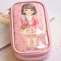 baby toiletries - Mini Beauty Girls Doll Baby Handbag Women Cosmetic Bags Cases Travel Package Storage Bag Toiletries Kits Bag Cosmetic Bag