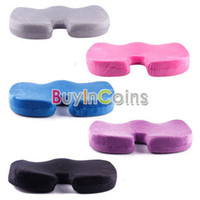 Wholesale Deluxe Memory Foam Back Ache Pain Office Chair Orthopedic Seat Solution Cushion