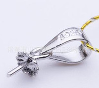 Wholesale beautiful pendant necklace Qian Hui silver pearl pendant melon seeds buckle head