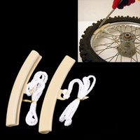 Wholesale 2pcs Motorcycle Motorbike Saver Changing Tire Wheel Rim Edge Protectors For Suzuki Honda Yamaha Portable