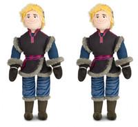 Wholesale Retail CM New Frozen Kristoff Plush Dolls Stuffed plush Soft Toys Baby Toy Christmas Gift BO6957