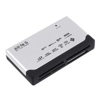 Wholesale Universal USB ALL IN Multi CARD READER Secure Digital Memory Card XD MMC MS CF SDHC High Compatibility Retail