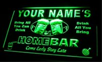 Wholesale tm Name Personalized Custom Home Bar Beer Neon Light Sign Dropshipping