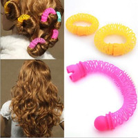Wholesale New Fashion Arrival Lucky Donuts Curly Hair Curls Roller Hair Styling Tools Hair Accessories For Women
