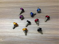 electric scooter parts - For Scooter motorcycle conversion electric car parts trim color circle carved screw screw screw license