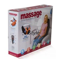 Wholesale Viberation Far infrared Heating Kneading Massage Chair Cushion For Home Car Office V for Home V for Car Use