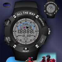 Wholesale 2015 New GPS Watch Men Sports Watches Outdoor Waterproof Digital Watch GPS Tracker Compass Automatic Readier