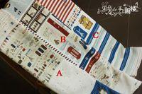 Wholesale Travel bag fluid cloth fabric mparis series diy handmade