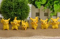 Wholesale New arrival Pokemon Pikachu action figure toys CM cartoon Pokemon PVC Action Figures kids Girls Toys Christmas Gifts styles
