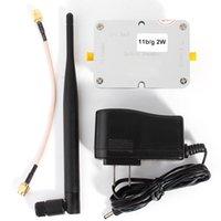 Wholesale 2W Wifi Wireless Broadband Amplifier Router Ghz Power Range Signal Booster Wireless Signal Booster
