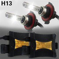 Wholesale Hot automobiles xenon hid kit xenon W H13 K K k K W car HID xenon kit W car styling