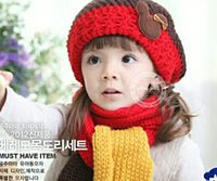 beret outfits - Hat Scarf Winter Beret For Little Girl amp Boy Warm Scarf Outfit Children s Wool Knitted Hat Or Retail Years
