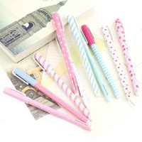 Wholesale 1set Korean Stationery Stationery Watercolor Pen Gel Pens Set Color KandeliaHot New Arrival