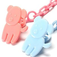 Wholesale baby dummy chain Baby Feeding Product Portable Dummy Pacifier Soother With Chain