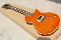 Wholesale Fire Eagle standard electric guitar orange original wood bridge high price upside down one