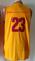 Wholesale 2015 Yellow Throwback Stitched Jersey Discount Cheap Basketball Jerseys High Quality Basketball Jersey tops