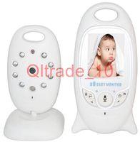 Wholesale 1PCS HHA324 Video Baby Monitor with Wireless Security Camera Way Talk Audio IR LED Night Vision Long Range Digital Signal